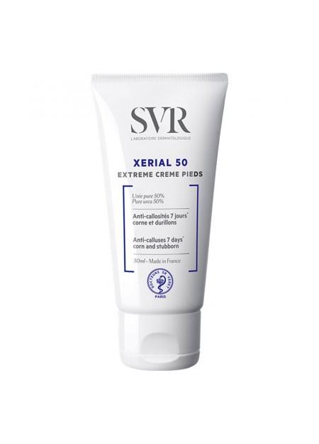 SVR XERIAL 50 Extrême Crème Pieds à 50% d'Urée - 50 ml
