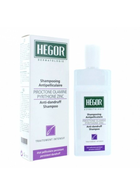 HEGOR SHAMPOOING ANTIPELLICULAIRE TRAITEMENT INTENSIF 150ML