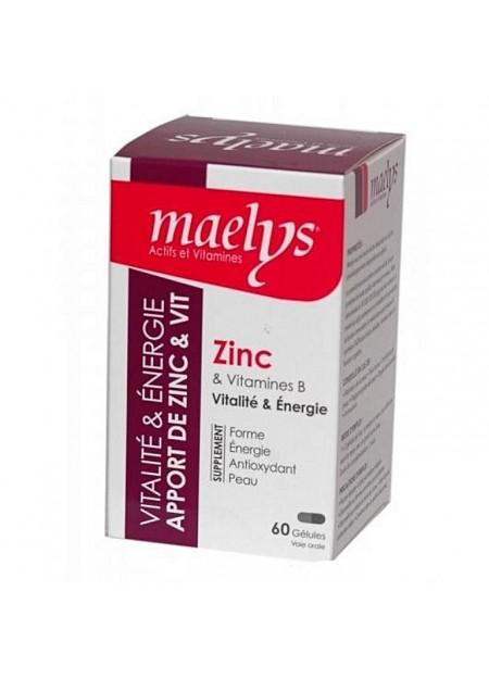 MAELYS ZINC & VITAMINES B VITALITÉ 60 GÉLULES
