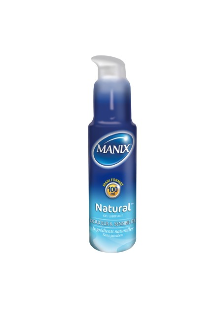 MANIX NATURAL GEL LUBRIFIANT 100 ML