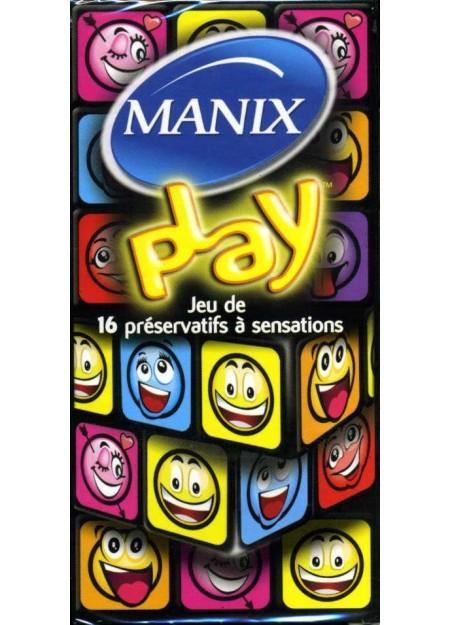 MANIX PLAY BOÎTE DE 16 PRÉSERVATIFS