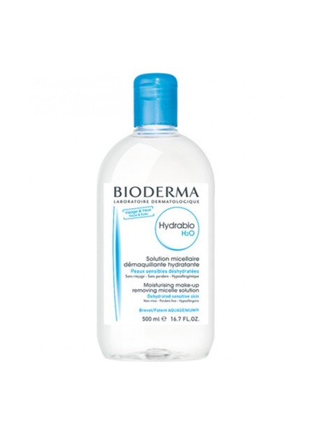 BIODERMA HYDRABIO, H2O Soution Micellaire - 2 x 500 ml