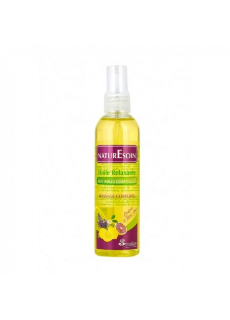 NATURE SOIN Huile Relaxante 125 ML