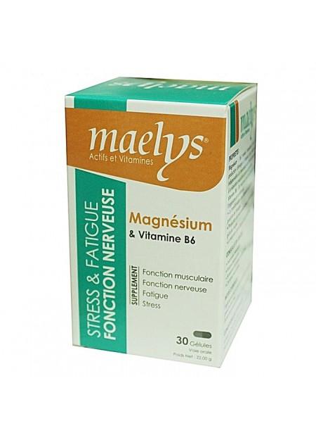 MAELYS MAGNÉSIUM & VITAMINE B6 30 GÉLULES
