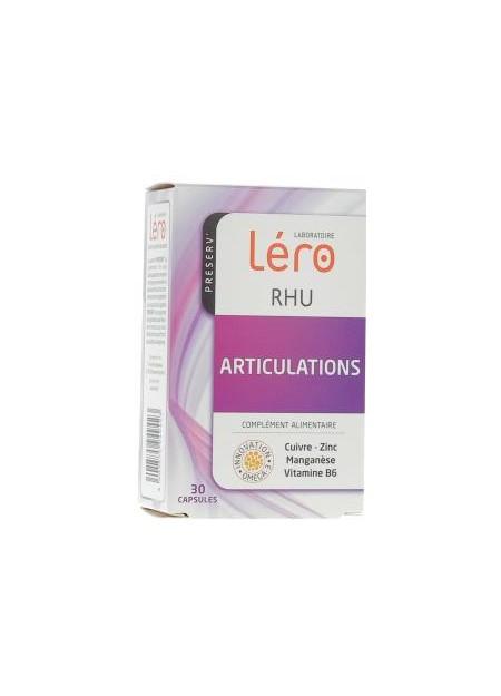 Léro RHU articulations - Boite de 30 capsules