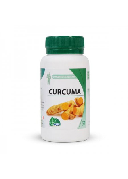 MGD NATURE CURCUMA 120 GÉLULES