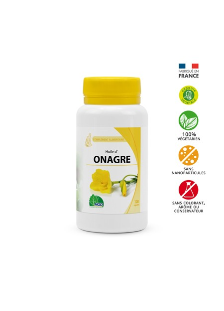MGD NATURE HUILE D'ONAGRE 100 CAPSULES