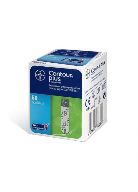 Bandelettes Contour Plus Bayer 25 BD