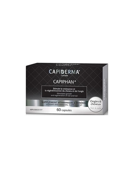 Capiderma Capiphan (VITAMINES ONGLES ET CHEVEUX)