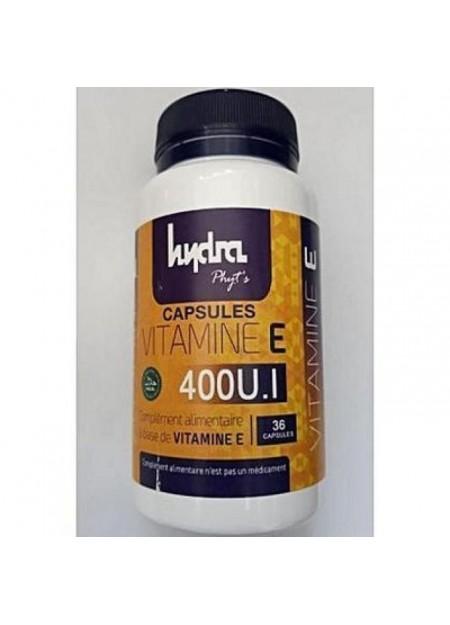 Hydraphyts Complément alimentaire à base de VITAMINE E 36 GELULES