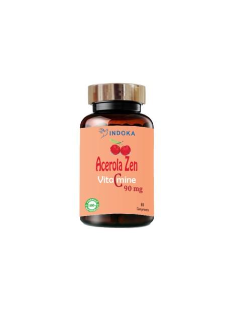 Indoka Acerola Zen Vitamine C à Croquer 60comprimés