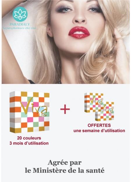 PROMO  Viva Look Lentilles + un pack de deux lentilles d'utilisation d'une semaine offertes