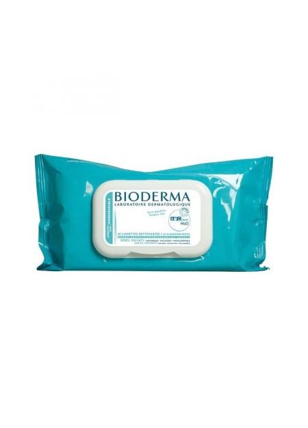 BIODERMA ABCDERM, Lingettes biodégradables - 60 unités