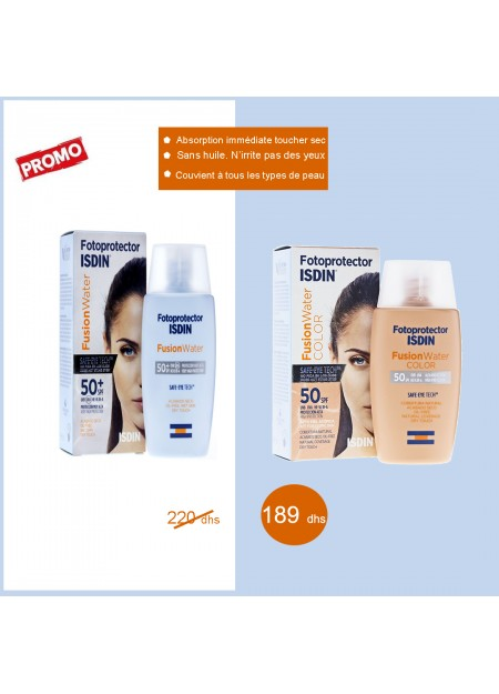 Isdin Fotoprotector IP50+ Fusion Water 50ml