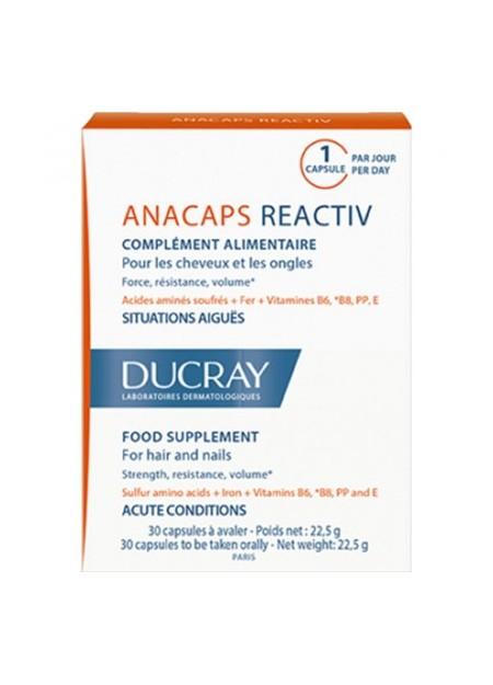 DUCRAY ANACAPS Reactiv. Boîte 30 caps