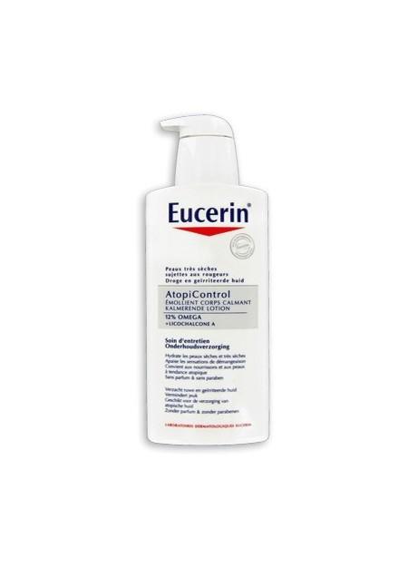 EUCERIN ATOPICONTROL, Émollient Corps Calmant - 400 ml