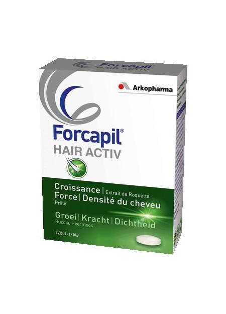 FORCAPIL HAIR ACTIV. Boîte 30 comprimés
