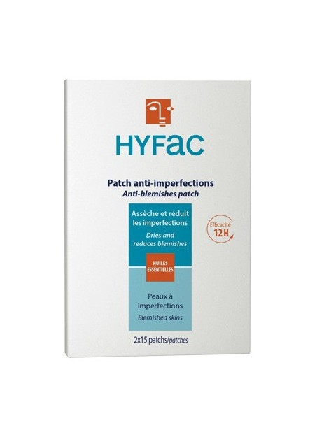 HYFAC Patch Anti-Imperfections. Boîte 2x15 Patchs