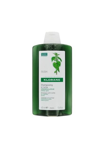 KLORANE Shampooing séboragulateur à l'ortie blanche - 400 ml
