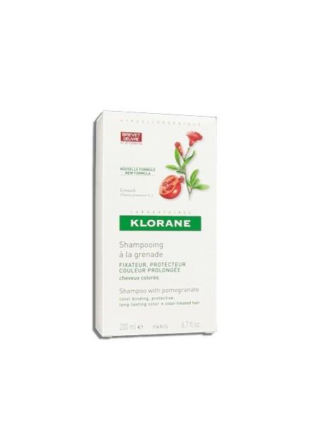 KLORANE Shampooing Cheveux Colorés à la Grenade - 200 ml