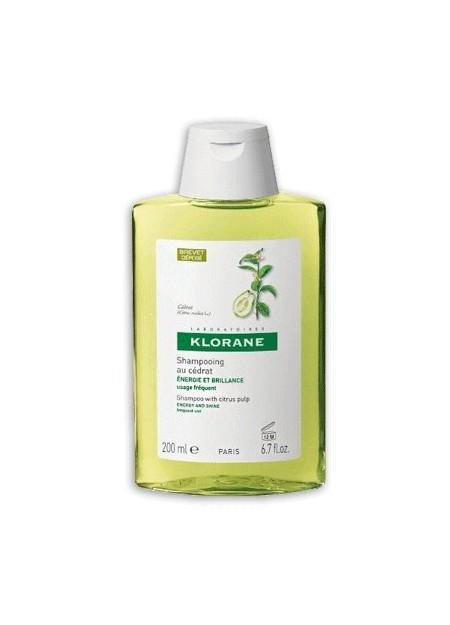 KLORANE Shampooing Vitaminé à la Pulpe de Cédrat - 200 ml
