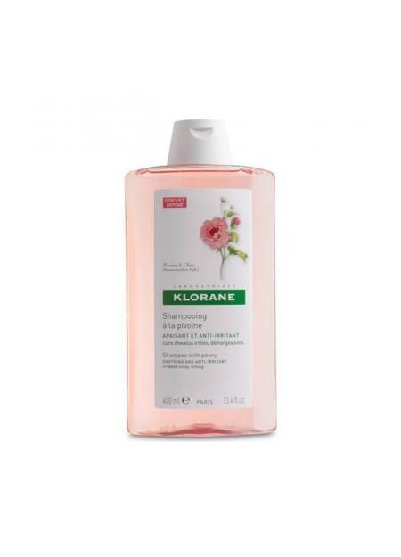KLORANE Shampooing Apaisant à l'Extrait de Pivoine - 400 ml