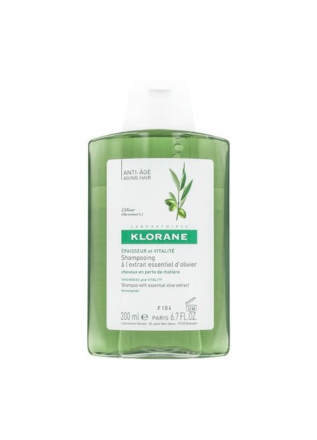 KLORANE OLIVIER Shampooing Anti-Âge - 200 ml