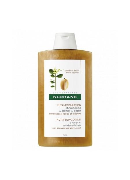 KLORANE DATTIER, Shampooing Nutritif et Réparateur - 400 ml