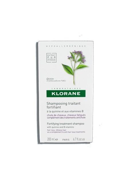 KLORANE Shampooing Traitant Fortifiant à la Quinine - 200 ml