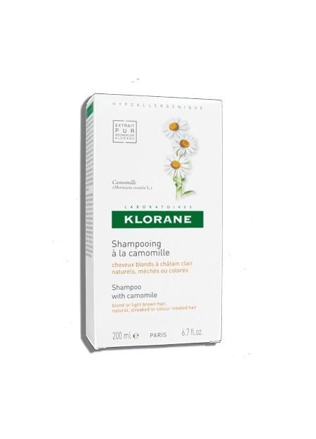 KLORANE Shampooing à la Camomille Blondissant et Illuminateur - 200 ml