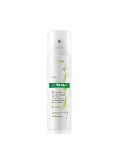 KLORANE Shampooing Sec Extra-doux au Lait d'Avoine - Spray 150 ml