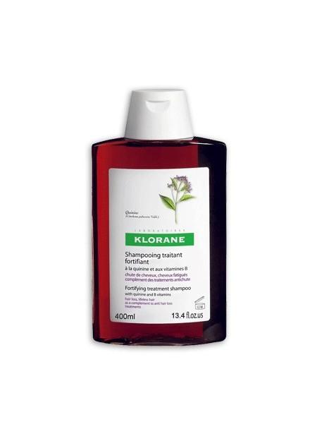 KLORANE Shampooing Traitant Fortifiant à la Quinine - 400 ml