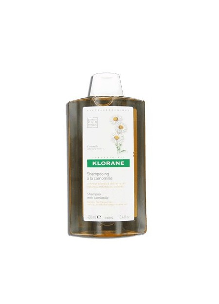 KLORANE Shampooing à la Camomille Blondissant et Illuminateur - 400 ml