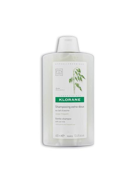 KLORANE Shampooing Extra-doux au Lait d'Avoine - 400 ml