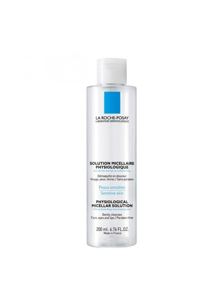 LA ROCHE-POSAY Solution micellaire physiologique - 200 ml