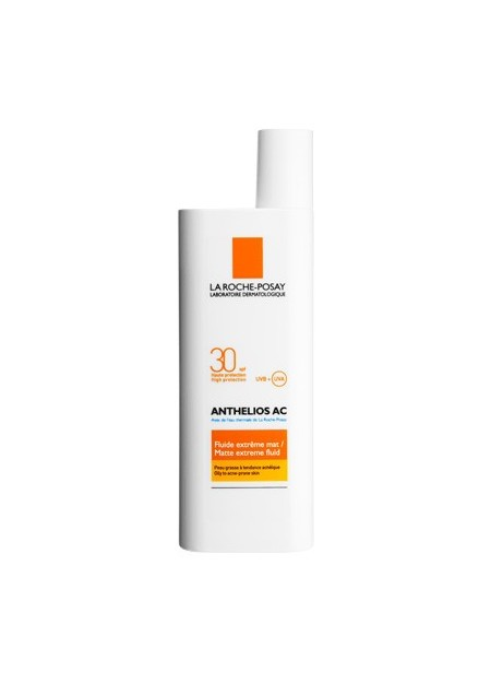 LA ROCHE-POSAY ANTHELIOS, SPF30 Fluide mat anti-brillance - 50 ml