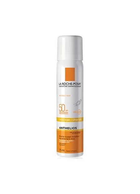 LA ROCHE-POSAY ANTHELIOS, Brume visage invisible SPF50+. Spray 75 ml